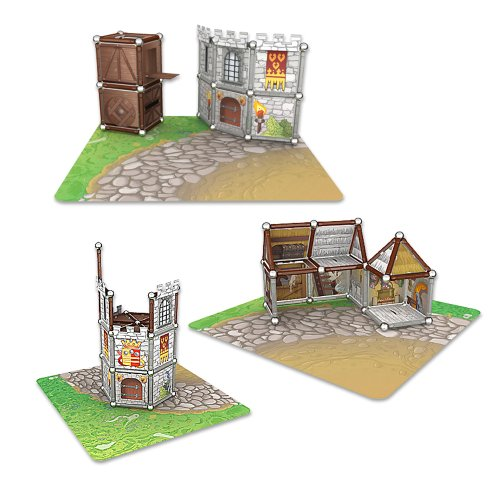 Imagen 2 de Giochi Preciosi 601050 - Geomag Castillo 163 Piezas