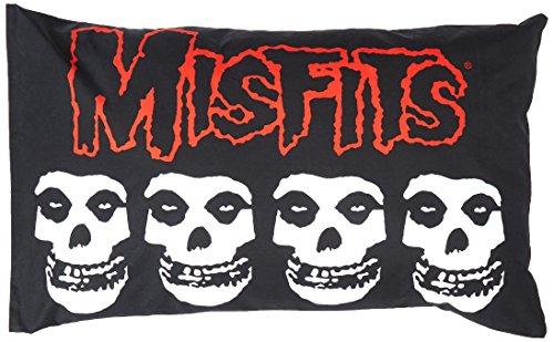 "MISFITS Logo & Skulls, Official Original Licensed Artwork, 17"" x 28"" - PILLOW CASE"