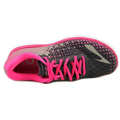 Brooks Pureflow 5 W, Scarpe da Corsa Donna, Peacoatnavy/Nightlife/Lapis ANTHRACITE/PINKGLOW/ALLOY