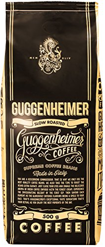 NEU in Deutschland - GUGGENHEIMER COFFEE - Kaffeebohnen 2kg - Extra langsam geröstet - wenig Säure...