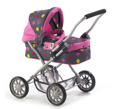 Bayer Chic 2000  555 24 - Puppenwagen Smarty, Funny Pink