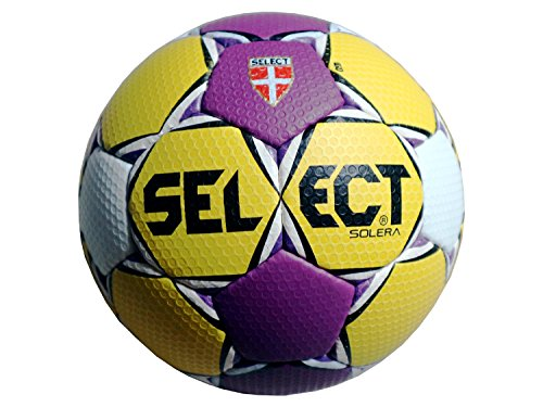 Select Solera Handball, Gelb/Purple/Weiß, 3
