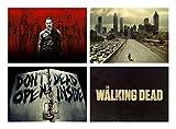 Set 4 Tovagliette The Walking Dead