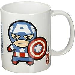 Marvel–Captain America Taza de cerámica, multicolor