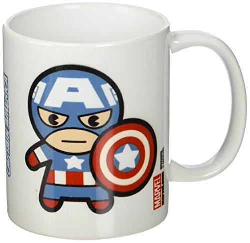 DC Universe Marvel Kawaii Captain America 11oz/315ml Kaffeetassen