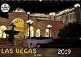 LAS VEGAS - by night (Wandkalender 2019 DIN A2 quer): Tauchen Sie ein in das nächtliche Las Vegas (Geburtstagskalender, 14 Seiten ) (CALVENDO Orte)