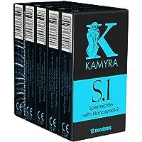 KAMYRA «S.1» Spermicide - 60 (5x12) spermizide Kondome - SPARPACK! Vorratspackung! preisvergleich bei billige-tabletten.eu