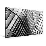 Premium Textil-Leinwand 75 cm x 50 cm quer, Zürich, UBS   Wandbild, Bild auf Keilrahmen, Fertigbild...