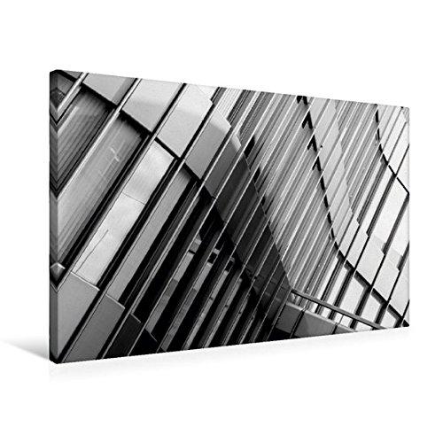 Premium Textil-Leinwand 75 cm x 50 cm quer, Zürich, UBS | Wandbild, Bild auf Keilrahmen, Fertigbild...