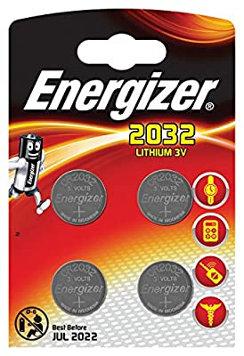 Energizer 2032 Battery x 4