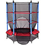 Trampolin Gartentrampolin Kindertrampolin Indoortrampolin Outdoor trampolin mit Sicherheitsnetz Ø 140