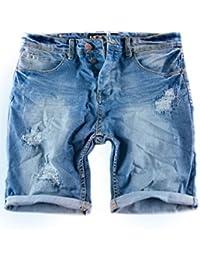 MERISH Vaqueros cortos Hombre Jeans rotos Modell J3011