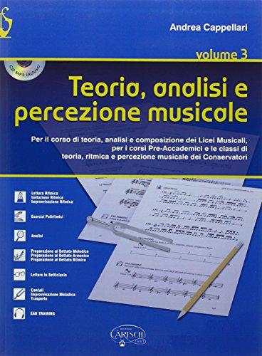 Teoria, analisi e percezione musicale. Con CD Audio. Per le Scuole superiori: 3