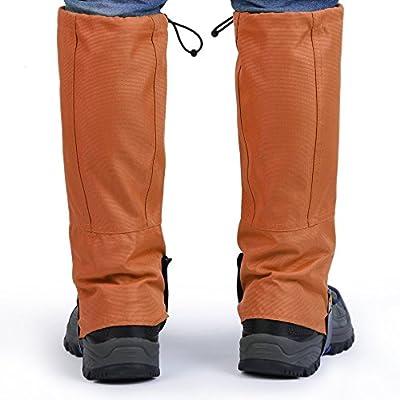 bluefiled Wasserdicht Outdoor Wandern Walking Klettern Jagd Schnee Legging Gamaschen Bein Schützen Equipment 1Paar von OUTAD bei Outdoor Shop