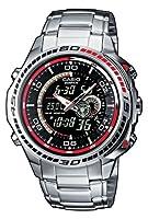 Reloj de caballero CASIO EFA-121D-1AVEF Edifice de cuarzo, correa de acero inoxidable color plata de Casio