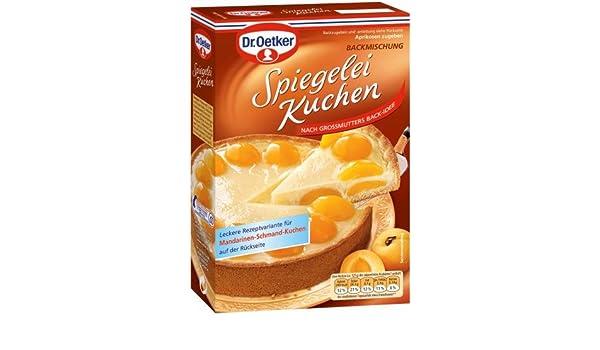 Dr Oetker Spiegelei Kuchen 8er Pack 8 X 410 G Packung Amazon De