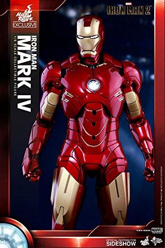 Hot Toys Movie Masterpiece Iron Man 2Iron Man Mark IV 1/6Action Figur Statue