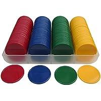 160 opaco SmartDealsPro jadella 3,81 cm contando fichas de póquer plástico contadores