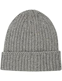 Thinsulate Mens Lined Ribbed Knit Winter Cosy Warm Knitted Beanie Hat