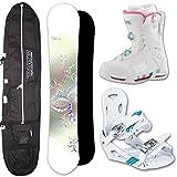 K2 Bindung Snowboardset 158cm, Niedecker Board Clicker Boots Gr.39 Unisex