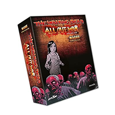 The Walking Dead All Out War 74975-Maggie (Expansion-édition Italienne)