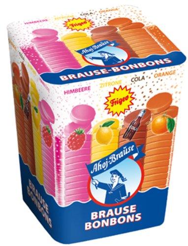 Frigeo Brause Bonbon Boxen, 18er Pack (18 x 125 g Packung)