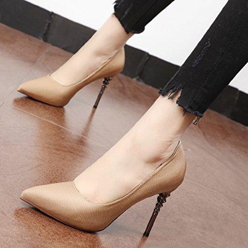 Flyrcx Printemps Et En Automne Fashionfashionable Personnalitéchaussette Sexysingle Shoessingle Shoesfine Talons Et Talons Parti A