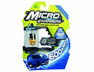 Micro Chargers – Booster Pack – 1 Micro Voiture Aléatoire – Assortiment (Import Royaume-Uni)
