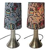 Touchleuchte Touch Leuchte 2er Set Eule Nachttischlampe Lampe Beleuchtung Tischlampe