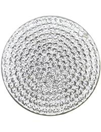 MY iMenso 24-0478 Insignie Glamour plateado y blanco cristales Swarovski 24 mm