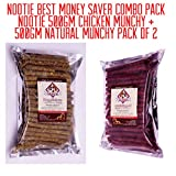 #4: Nootie Money Saver Combo Nootie 500gm Chicken Munchy+500gm Natural Munchy Combo Pack of 2