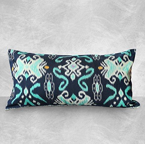 indigo-boho-ikat-pillow-cover-indigo-lumbar-pillow-blue-cotton-bohemian-euro-pillow-cushion-cover-th