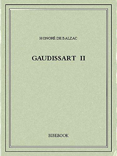 Couverture du livre Gaudissart II