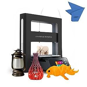JGAURORA A5 3d-Drucker DIY mit Metall Rahmen Voll und Farbdisplay Print Größe 305 * 305 * 320 mm Halterung PLA/ABS/Holz