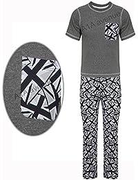 Essentials camiseta de los niños de diseño de Unisex algodón cómodo pijama pijamas de noche y