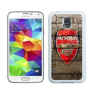Special Custom Samsung Galaxy S5 Case Arsenal 2 White Personalized Picture Samsung Galaxy S5 i9600 Phone Case