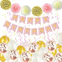 "Pastel Color Balloons 100 Pcs 10"" Macaron Candy Colored Latex Balloons Unicorn Balloons & Garland Kit with 15M Balloons Chain, 100 Balloon Glue Dots ,Balloons for Baby Shower Girl,Wedding, Birthday"