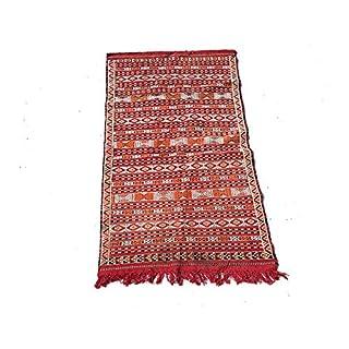 ARTIGIANATO VULCANO Artisanato Volcano Kilim Moroccan Berber Hand Woven Rug