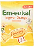 Em-eukal Ingwer-Orange zuckerfrei, 5er Pack (5 x 75 g)