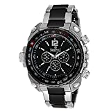 #9: Swisstyle Analogue Black Dial Men's Watch - ss-gr607-blk-ch