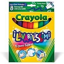 Crayola 8 Rotuladores Gruesos Ultra lavables