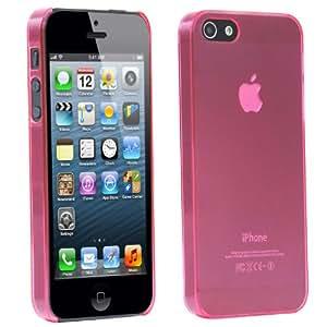 TRIXES Rosa iPhone Silikon-Hülle zum Schutz von iPhone 5 5G 5S