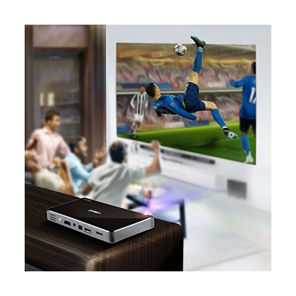 Vidoprojecteur-Portable-Full-HD-Slidoow-Mini-Projecteur-Vido-DLP-LED-Android-1080P-Pico-Projecteur-Home-Cinma-Maison-Multimedia-HDMI-Rtroprojecteur-WIFI-Bluetooth-Sans-Fil-pour-iPhone-Android-Smartpho