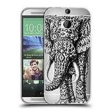 Head Case Designs Offizielle Bioworkz Navajo Elefant Tierwelt 2 Soft Gel Hülle für HTC One M8 / M8 Dual SIM