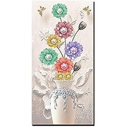 YH Inkjet Ölgemälde Moderne Wandmalerei Home Dekorative Kunst Bild Malen Auf Leinwand Die Blume Der Ruhigen Eleganten Klassischen Mode (Rahmenlos),A,50Cm*100Cm