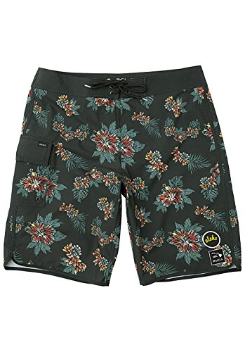 RVCA Herren Boardshorts Mcmillan Floral Trunk Boardshorts (Trunk Floral)