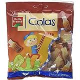Belle France Bouteilles Cola Candy Gélifiées Sachet de 200 g - Lot de 12