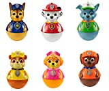 Paw Patrol Full Set Of Six Weebles Action Toys