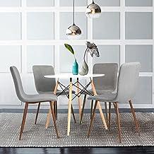 Suchergebnis Auf Amazonde Für Esstisch Stühle Stoff Grau