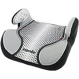 Osann Kinderautositz Autositzerhöhung Booster Topo Luxe Pop Black schwarz grau, 15 bis 36 kg, ECE Gruppe 2 / 3, von ca. 3 bis 12 Jahre, mit integrierter Gurtführung